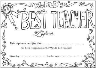 teacher appreciation coloring pages # 7