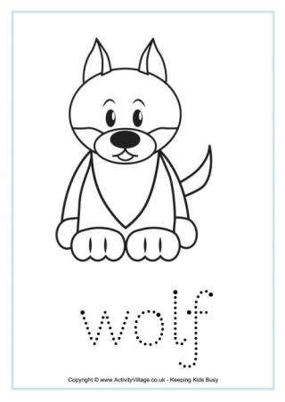 Wolf Tracing