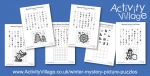 New Winter Mystery Picture Puzzles