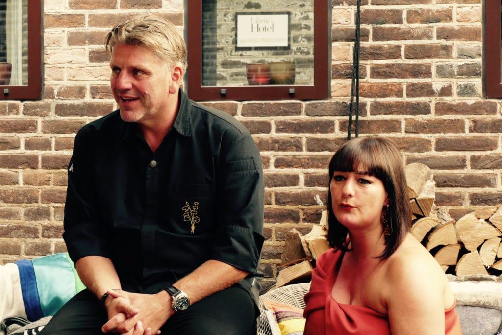 Jonnie en Thérèse Boer