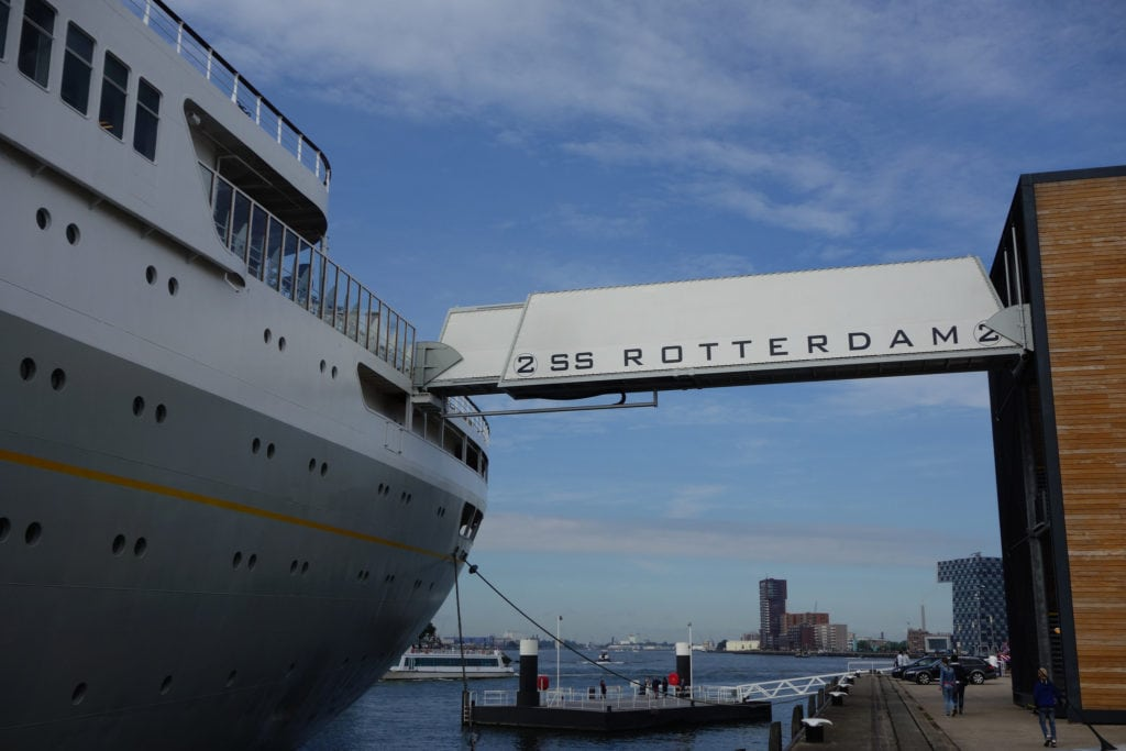 ss Rotterdam arrival