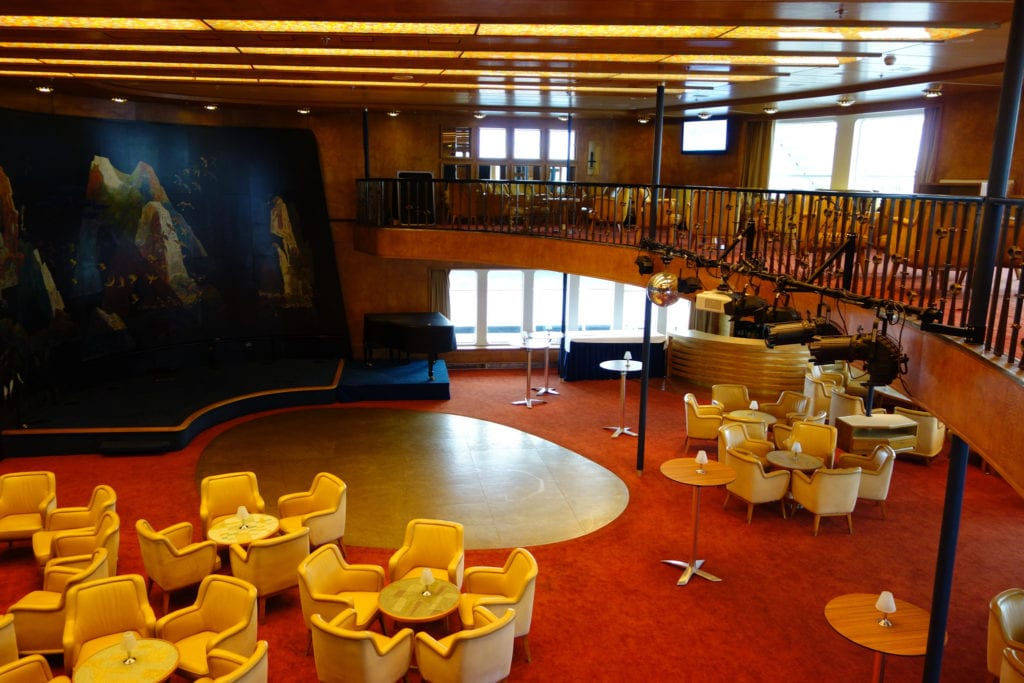 ss Rotterdam ballroom