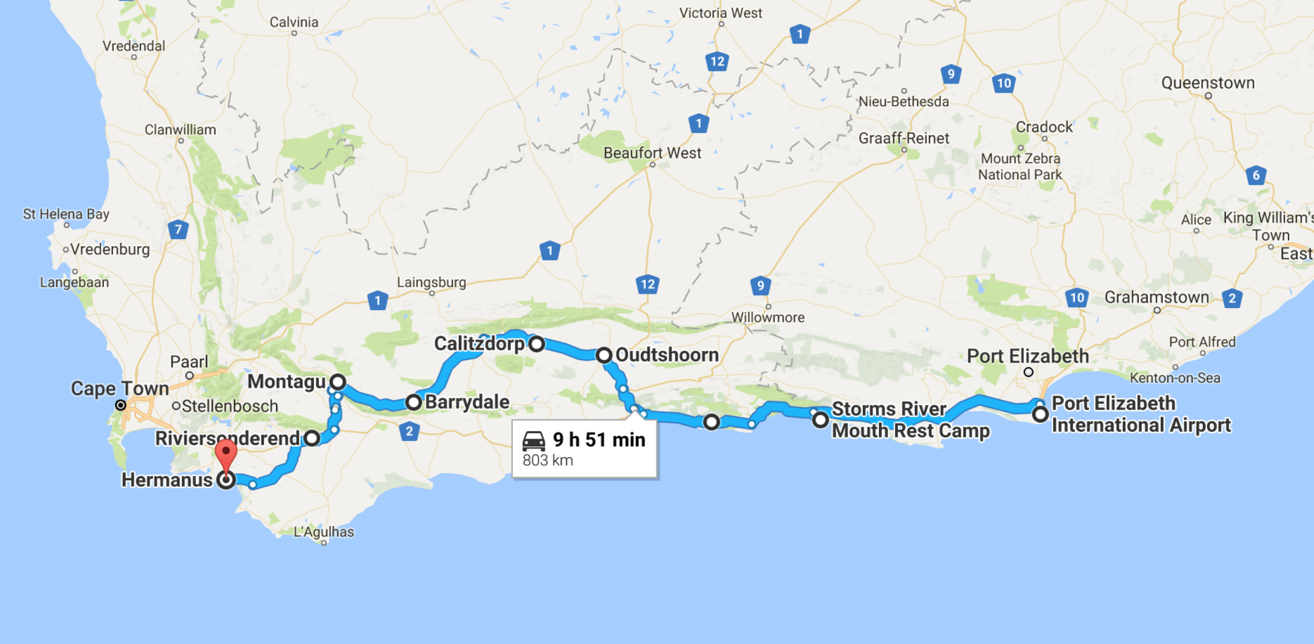 Why you should combine the garden route and route 62 act - Drive from port elizabeth to cape town ...