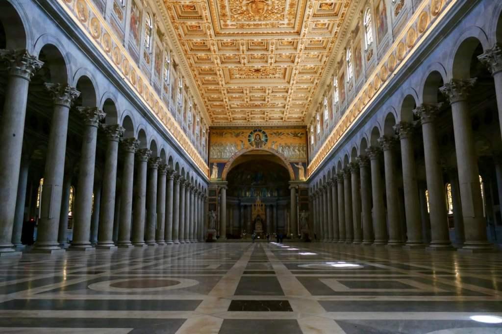 Basilica St Paul Rome Italy