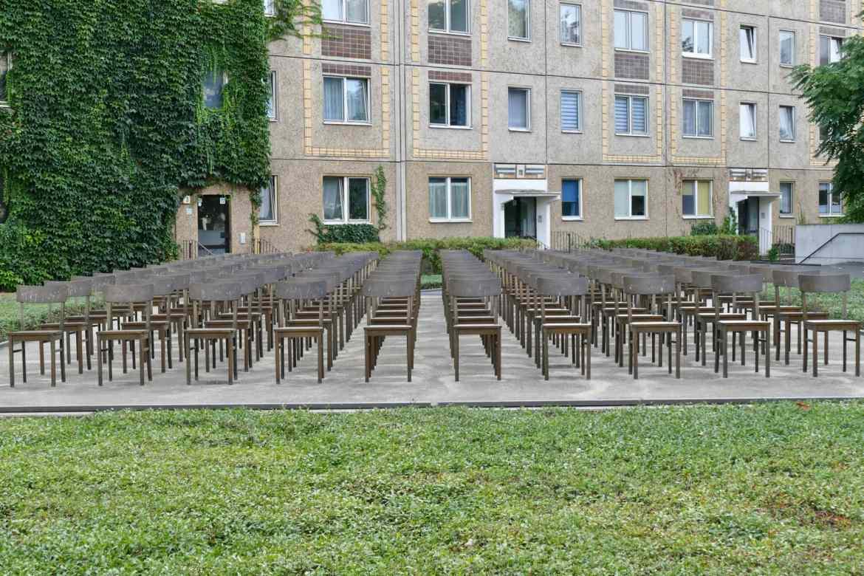 Holocaust memorial Leipzig
