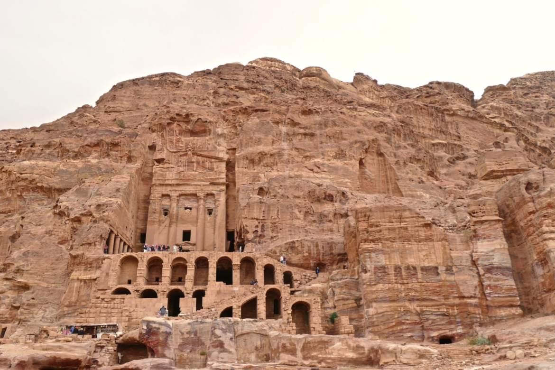 Petra in the rocks