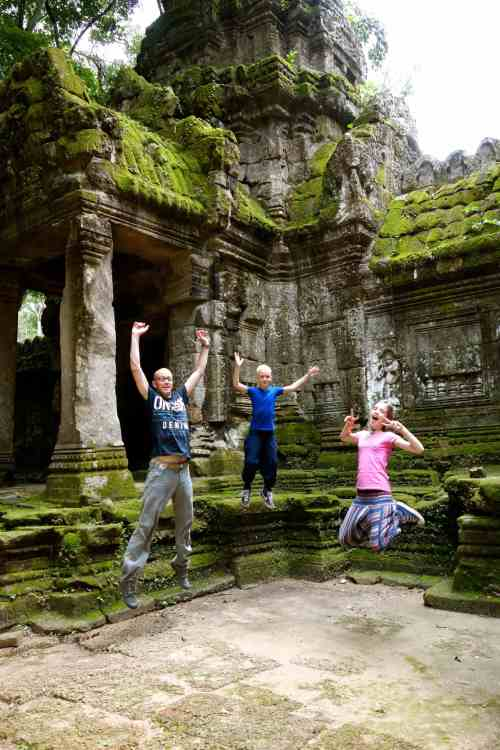 Fun in Angkor Wat
