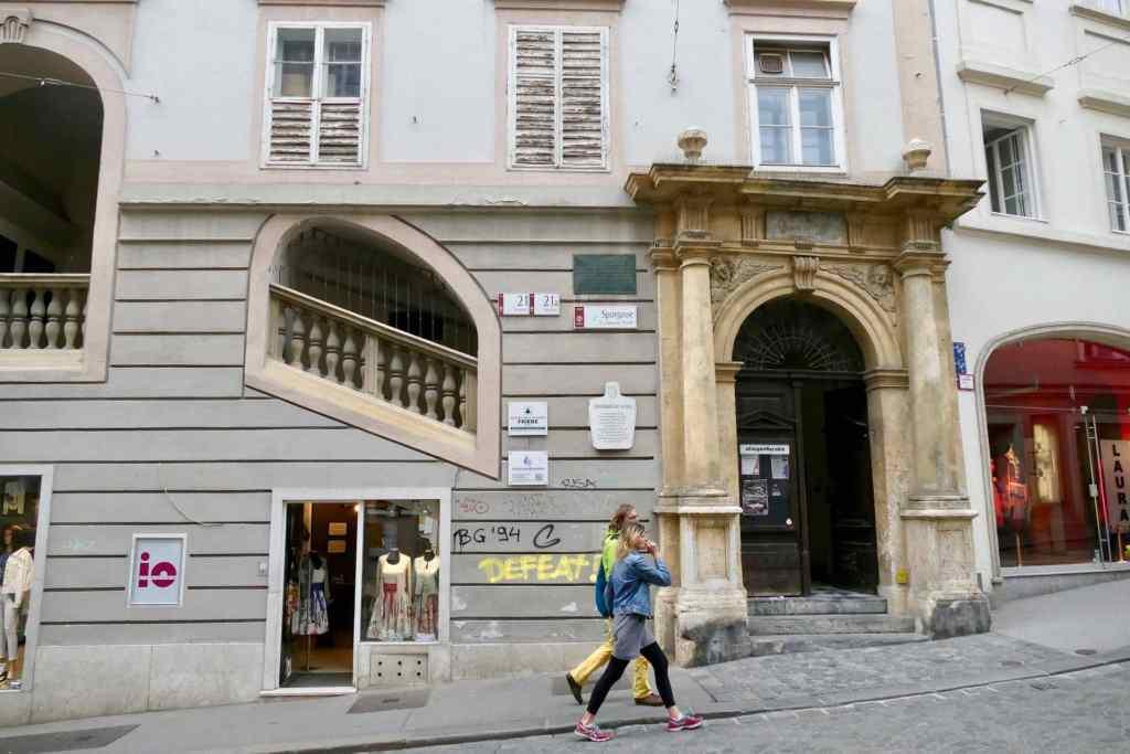Graz Sporgasse