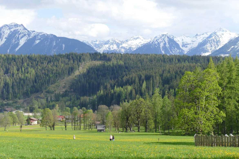Landscape near Schladming
