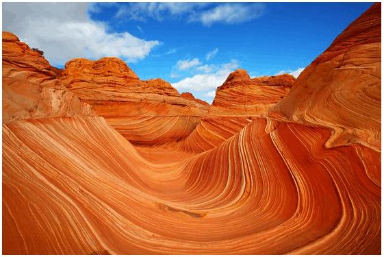 Surreal places Wave Arizona