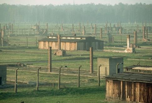 Surreal places Auschwitz