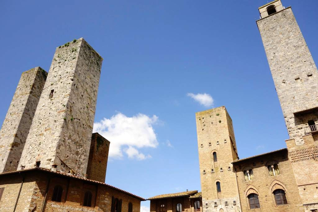 Towers city Italy