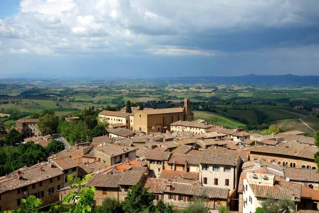 View Tuscany San Gimignano