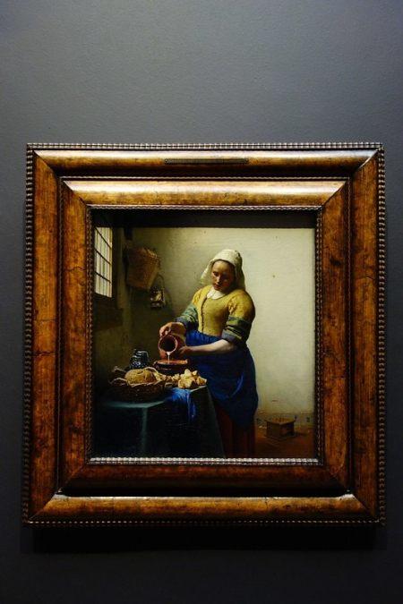 Vermeer Milk Maid