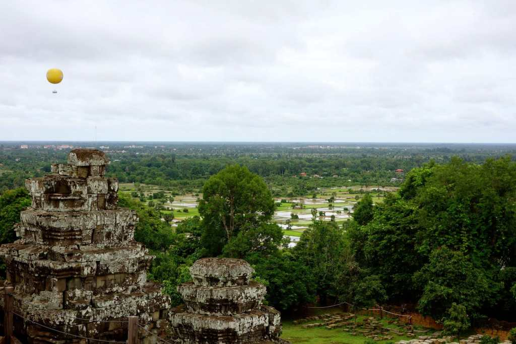 On top of Phnom Bakheng temple