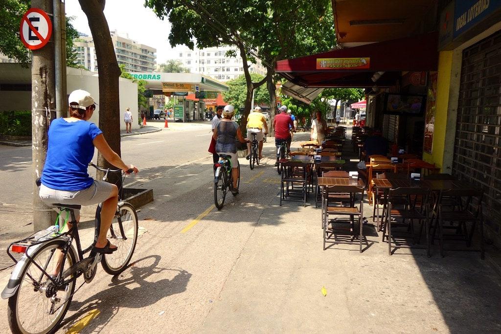 Biking streets of Rio
