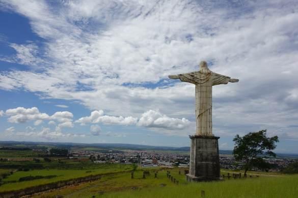 Christ statue Patrocinio