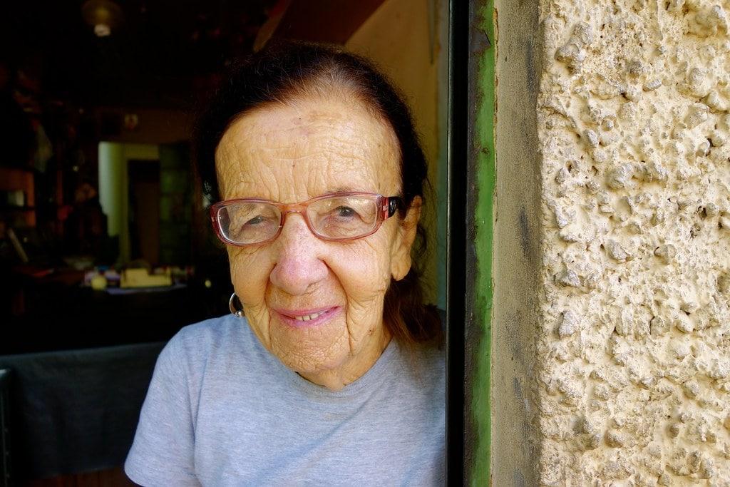 Old lady in Patrocinio Brazil