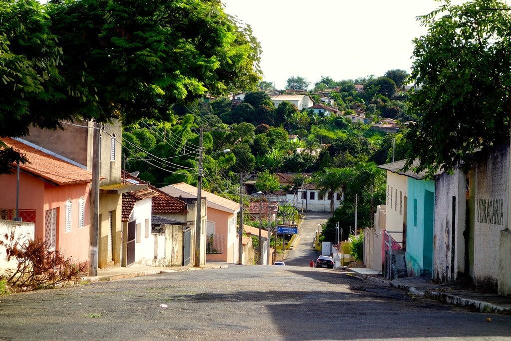 Street Brazilian village