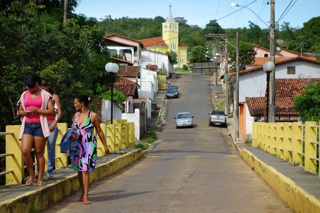 Street in Estrela do Sul