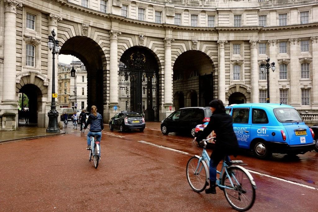 Biking London
