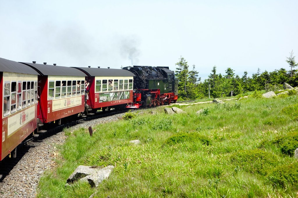 The Brocken Mountain express