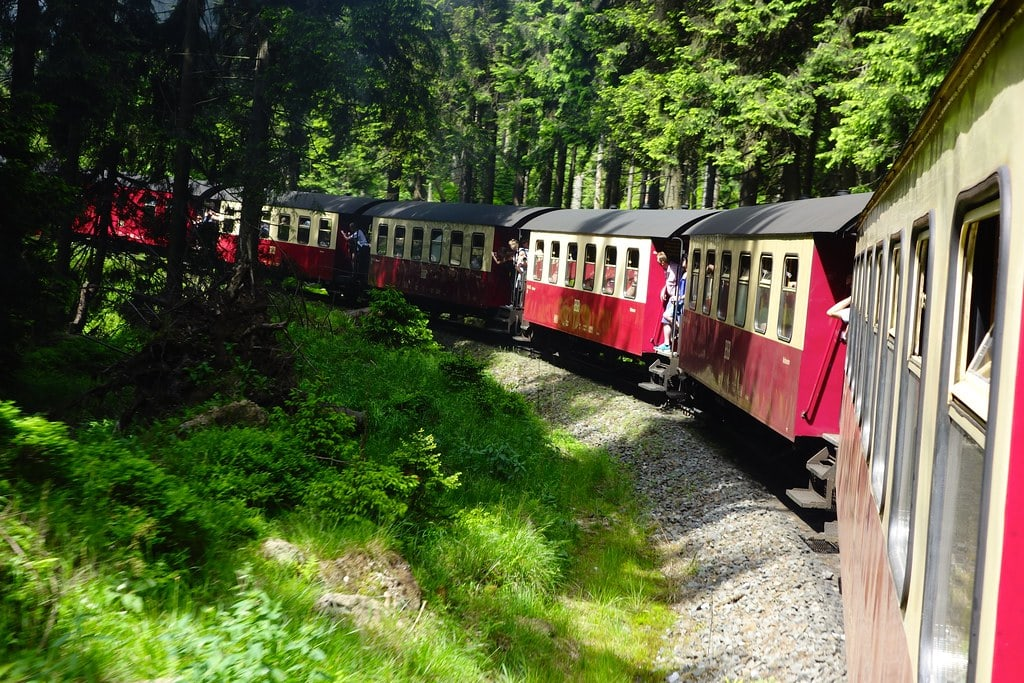 Brocken train riding