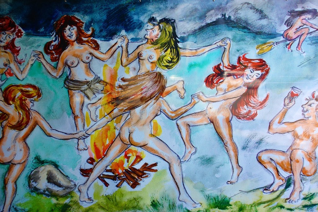 Dancing witches Thale Harz