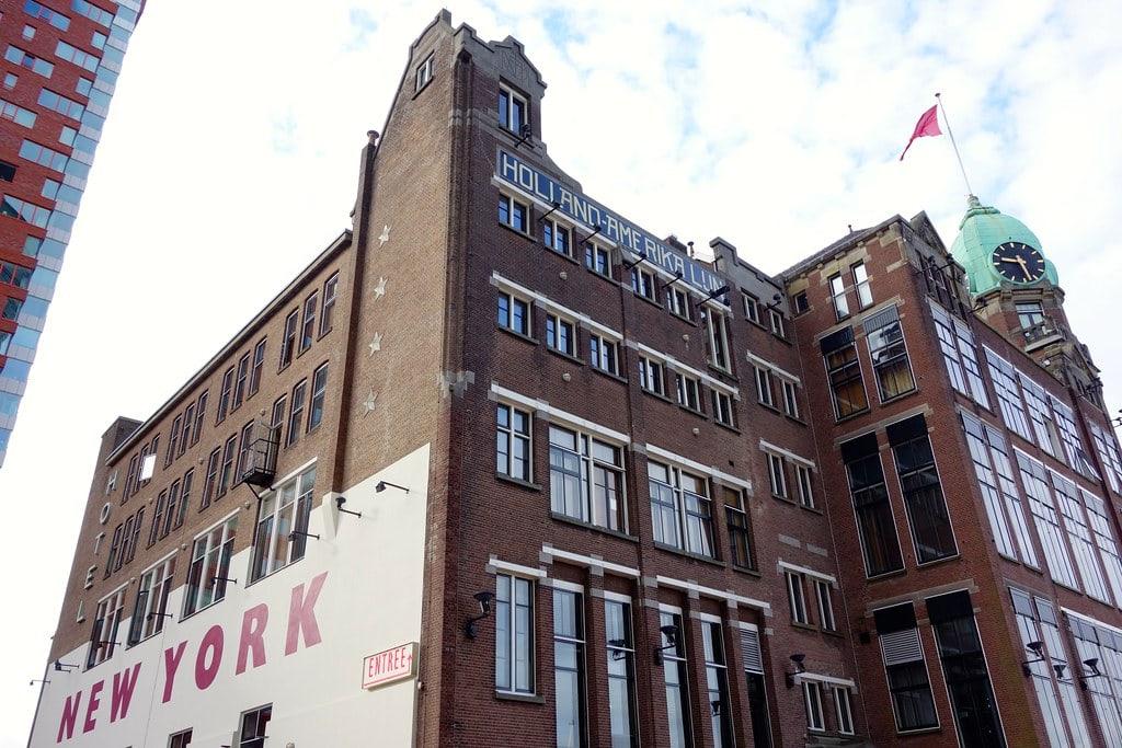 Historic building now Hotel New York
