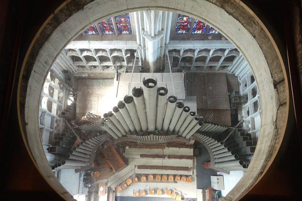 Rumboldstower look through organ