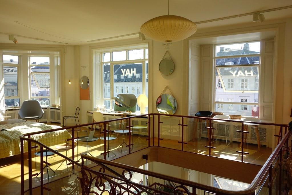 Inside Hay store Copenhagen