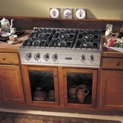 Top Rated Kitchen Stoves Turquoise Appliances 36-inch Gas Cooktops | Acton Woodworks