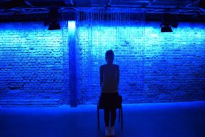 Melissa Parker in WEIRD at the Arcola Theatre