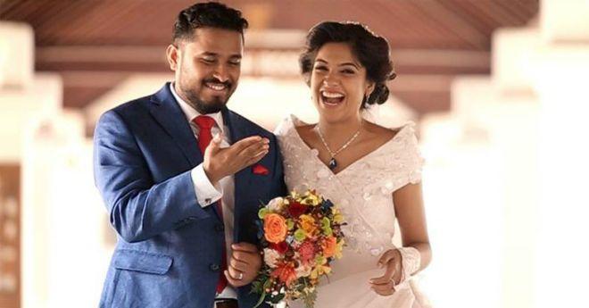 archana kavi wedding photos
