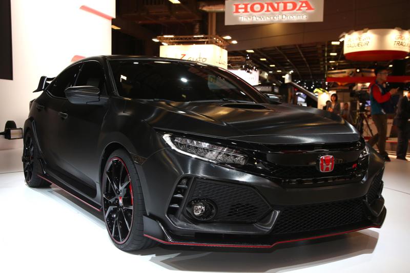 Honda Civic Type R 2017  dj la nouvelle