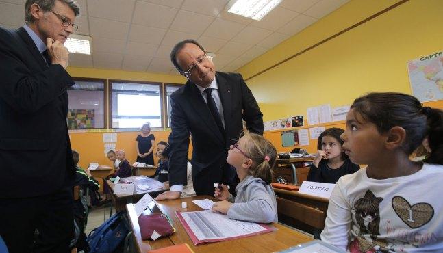 François Hollande lance son plan « école numérique » à un milliard