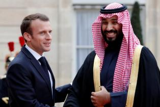 Le prince héritier saoudien achève sa visite officielle en France