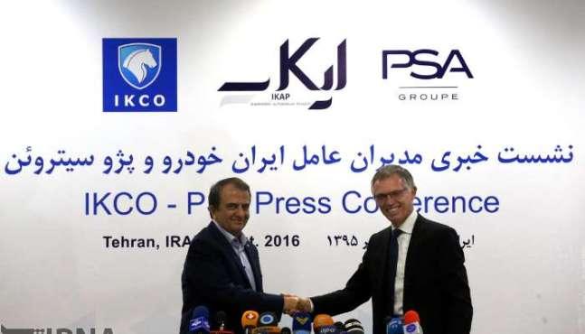 L'Iran utilise la technologie Peugeot malgré le retrait du constructeur français