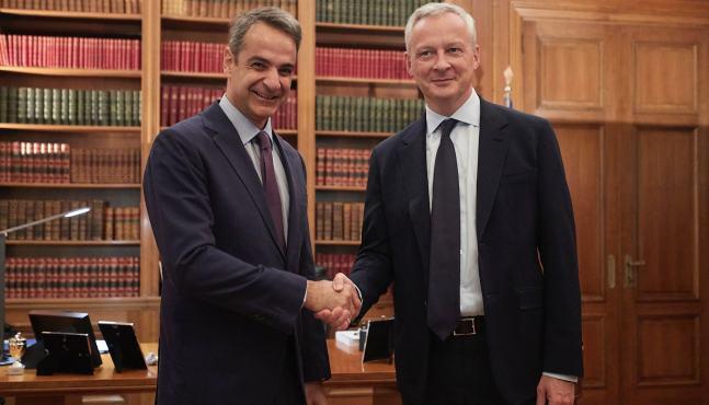 Bruno Le Maire à Athènes pour parler des perspectives de la zone euro