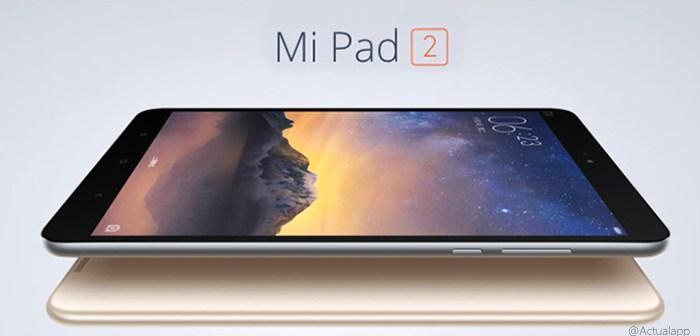 Xiaomi Mi Pad 2: Tablet Android de 7,9 pulgadas en preventa