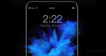 iphone 8 con escaner de iris - Concepto de Moe Slah
