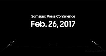 presentacion samsung en el mwc 2017