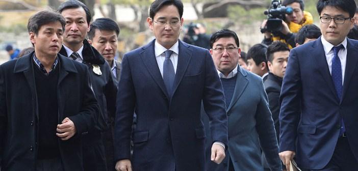 vicepresidente de Samsung ha sido detenido