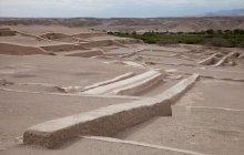 Una de las rutas para llegar a la concesión para conservación pasa por Cahuachi, patrimonio arqueológico que bien vale la pena ser visitado.