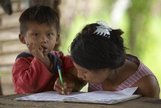 Actualmente existe un déficit del 94% de docentes con formación en educación intercultural bilingüe