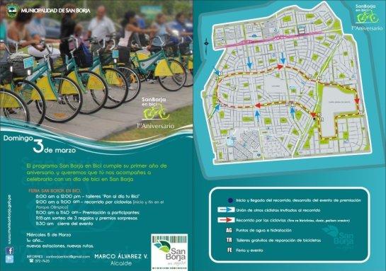 Bicicleteada en San Borja