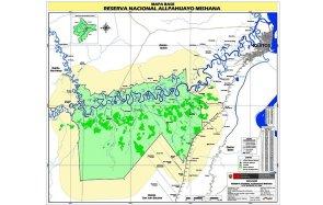 En el año 2007, el botadero fue declarado en emergencia. Por ello la Municipalidad Provincial de Maynas dispuso apresuradamente su traslado al kilómetro 30.5 de la carretera Iquitos – Nauta. Sin embargo, esta nueva ubicación se superpone a la zona de amortiguamiento de la Reserva Nacional Allpahuayo Mishana. Foto: Botadero RNAM 1 (imagen proveìda por la Jefatura de la Reserva Nacional Allpahuayo Mishana).