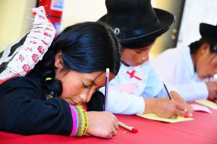Defensor del Pueblo exhortó al Estado a reducir las inequidades del sistema educativo que afectan a las comunidades indígenas. Foto: Andina.