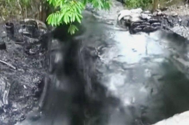 derrame de petróleo amazonas