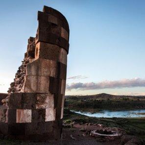 Laguna Umayo El Sitio Prioritario Laguna Umayo, se une con el lago Titicaca a través del río Illpa. Habitan diferentes especies de aves acuáticas y peces como pejerrey y bagres. Además, se encuentran los restos arqueológicos de Sillustani.
